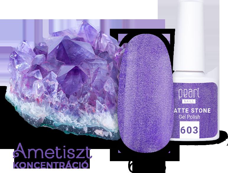 Matte Stone Gel 603 Ametiszt